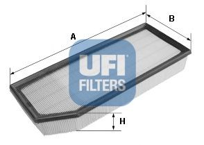 Filtre à air  UFI réf 30.357.00 (Fig-1)